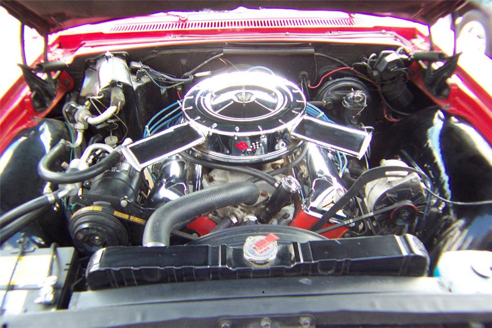 1965 CHEVROLET IMPALA SS CONVERTIBLE - Engine - 21314