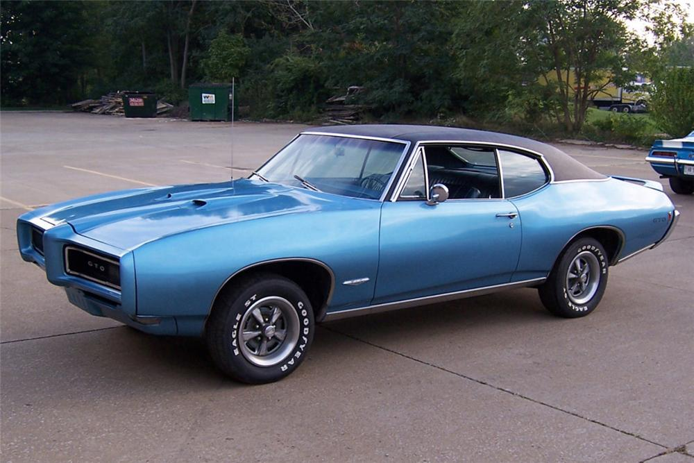1968 Pontiac GTO by AmericanMuscle on DeviantArt