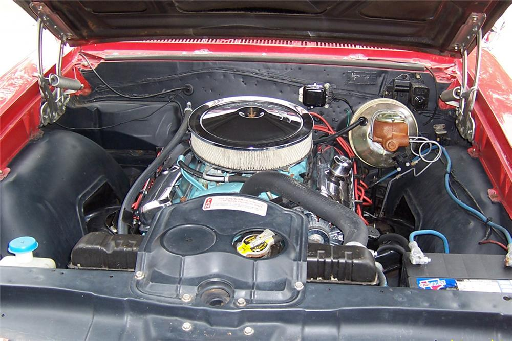 1966 PONTIAC GTO CONVERTIBLE - Engine - 21325