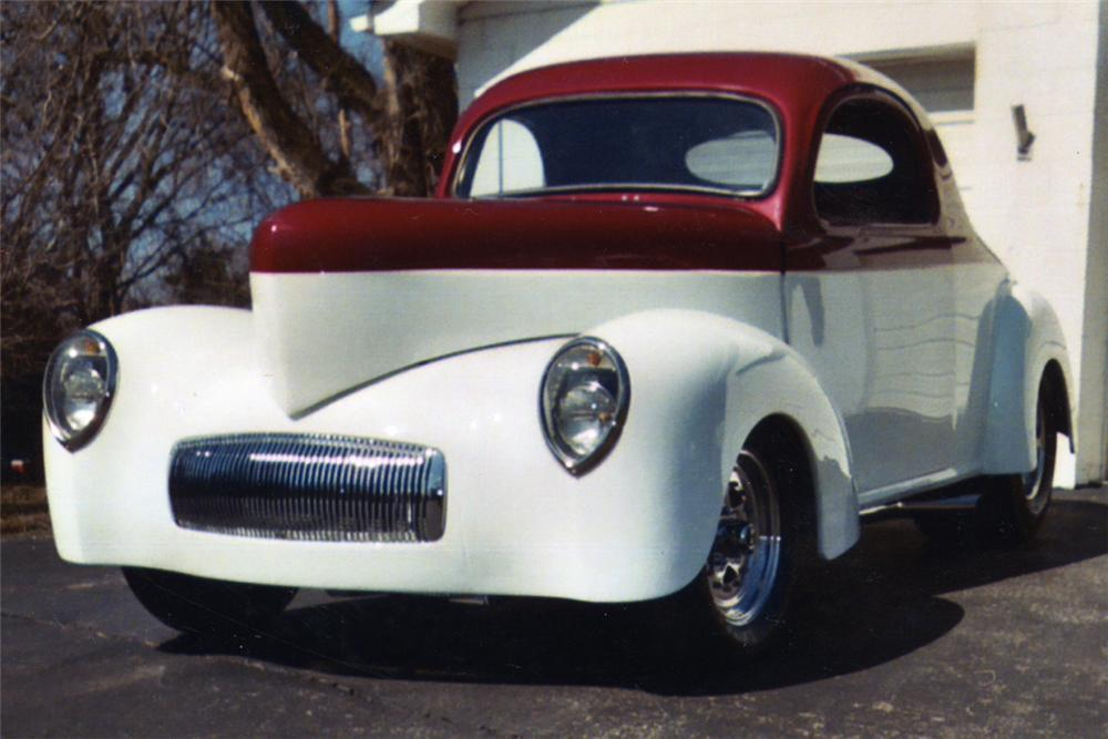 1941 WILLYS 2 DOOR COUPE PRO-STREET - Front 3/4 - 21328