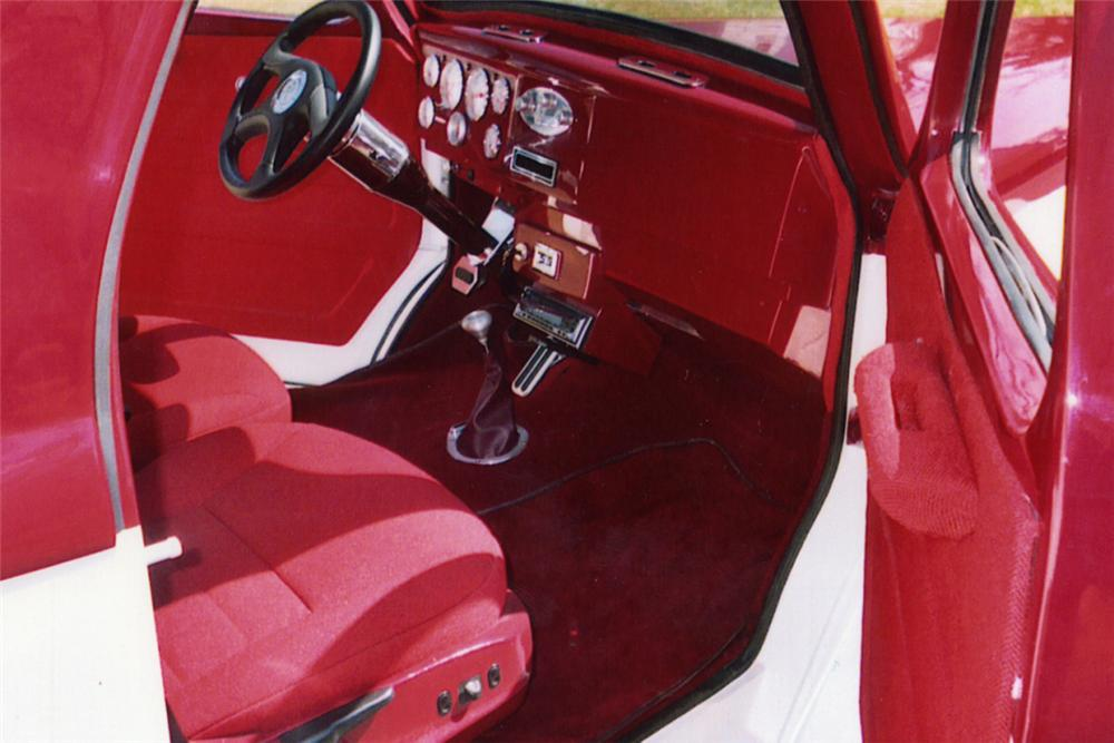 1941 WILLYS 2 DOOR COUPE PRO-STREET - Interior - 21328