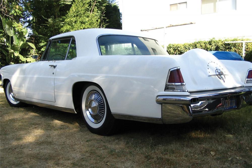 1956 LINCOLN CONTINENTAL MARK II COUPE - Front 3/4 - 21329