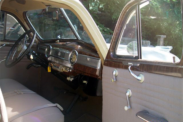 1946 CHEVROLET FLEETMASTER 4 DOOR SEDAN - Interior - 21331