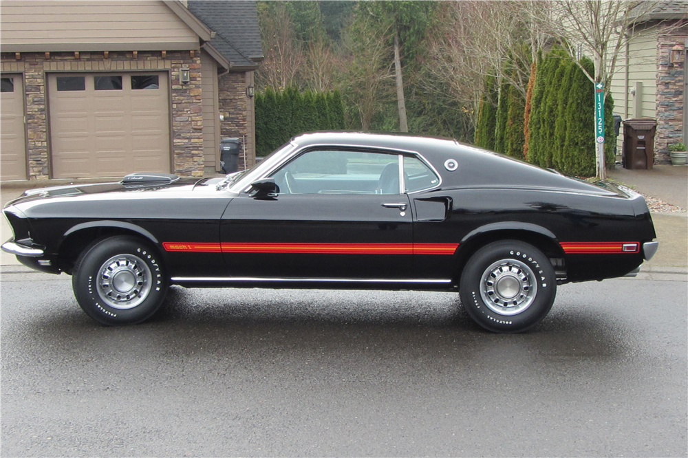 1969 FORD MUSTANG MACH 1 428 CJ - Side Profile - 213336