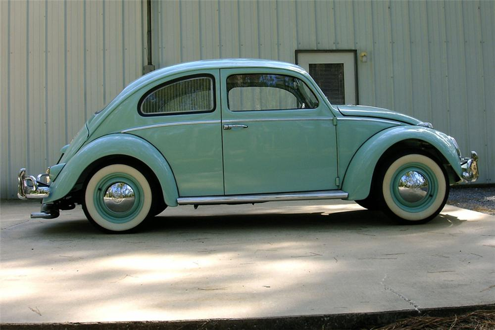 1961 VOLKSWAGEN BEETLE 2 DOOR - Side Profile - 21335
