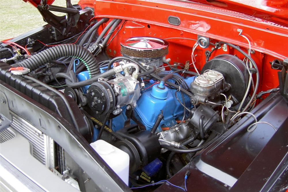 1967 FORD F-100 PICKUP - Engine - 21337