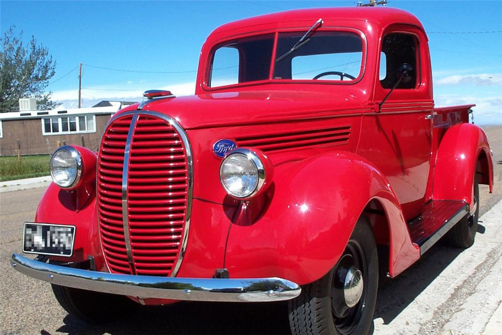 1939 FORD PICKUP - Front 3/4 - 21339
