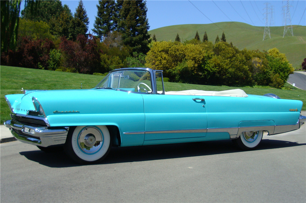 1956 LINCOLN PREMIER CONVERTIBLE - Front 3/4 - 213392