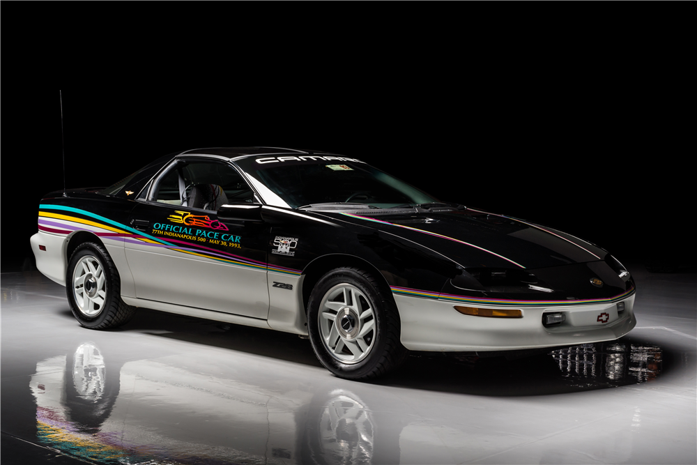 1993 CHEVROLET CAMARO Z/28 INDY PACE CAR - Front 3/4 - 213418