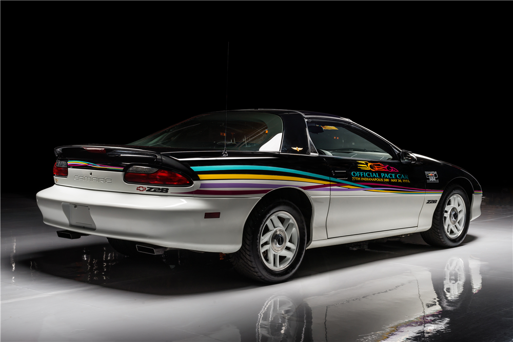 1993 CHEVROLET CAMARO Z/28 INDY PACE CAR - Rear 3/4 - 213418
