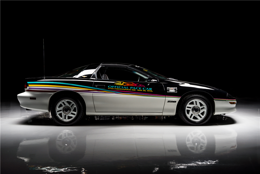 1993 CHEVROLET CAMARO Z/28 INDY PACE CAR - Side Profile - 213418
