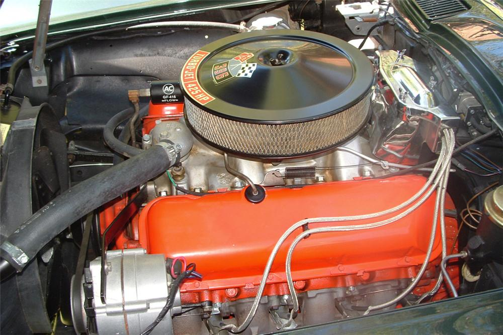 1965 CHEVROLET CORVETTE 396/425 CONVERTIBLE - Engine - 21344