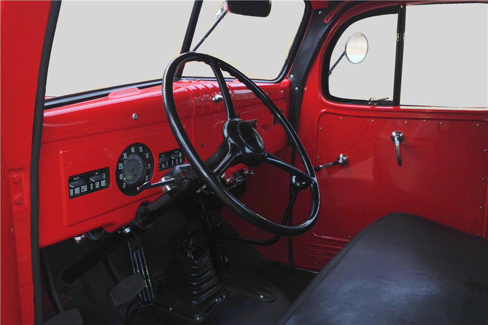 1947 DODGE POWER WAGON CUSTOM PICKUP - Interior - 213449