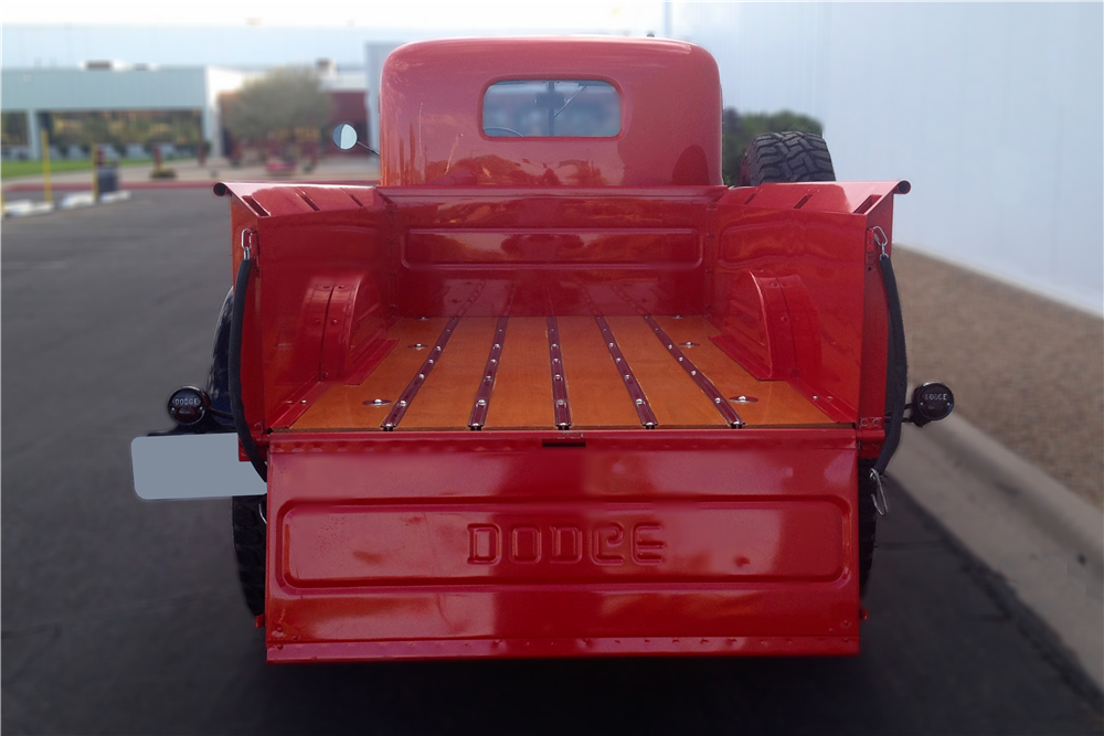 1947 DODGE POWER WAGON CUSTOM PICKUP - Rear 3/4 - 213449