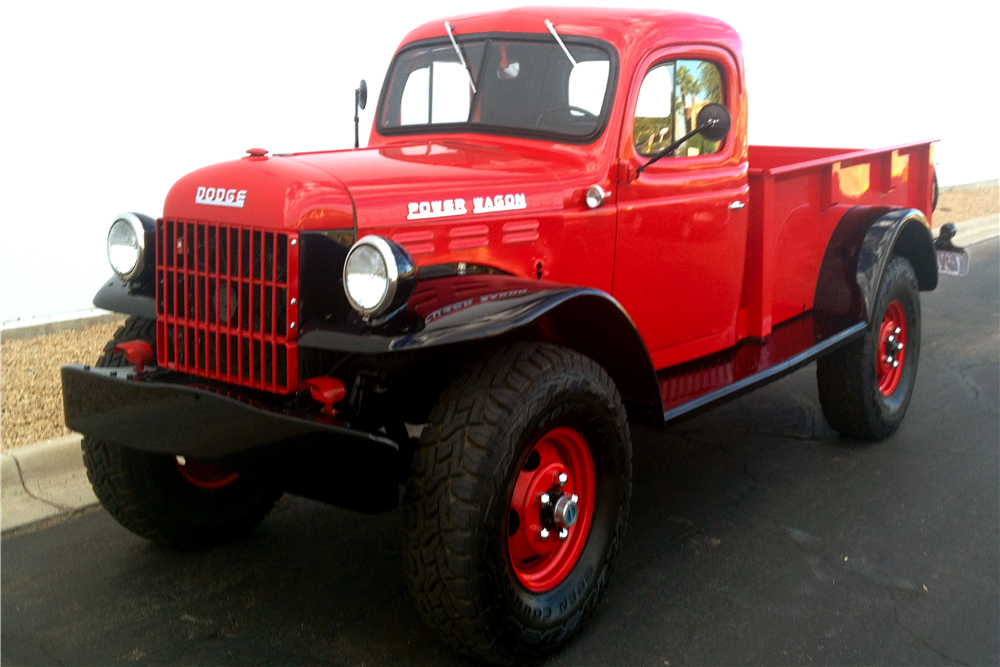 1947 DODGE POWER WAGON CUSTOM PICKUP - Side Profile - 213449