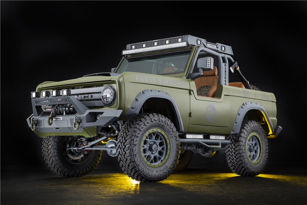 1969 FORD BRONCO CUSTOM 4X4 - Front 3/4 - 213471