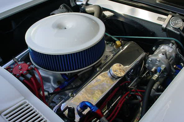 1964 CHEVROLET CORVETTE LS6 CUSTOM COUPE - Engine - 21348