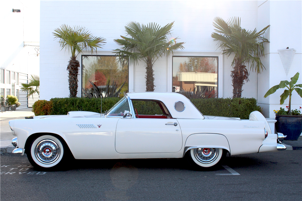 1955 FORD THUNDERBIRD CONVERTIBLE - Side Profile - 213626