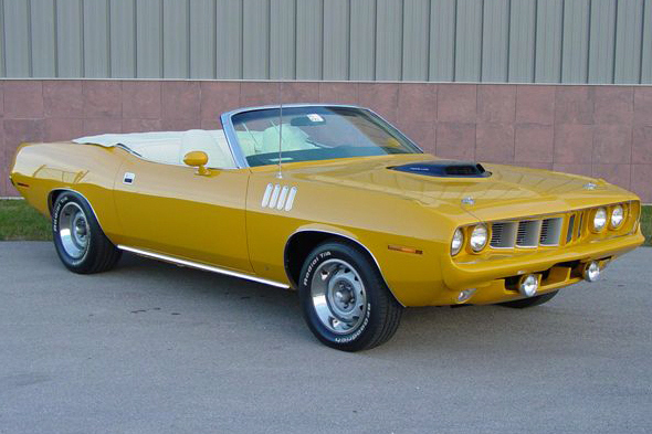 1970 PLYMOUTH CONVERTIBLE HEMI RE-CREATION - Front 3/4 - 21363