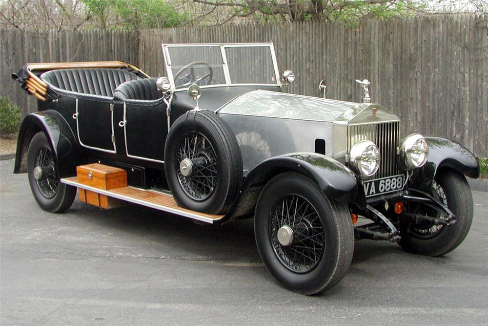 1927 ROLLS-ROYCE P-1 TOURING - Front 3/4 - 21368