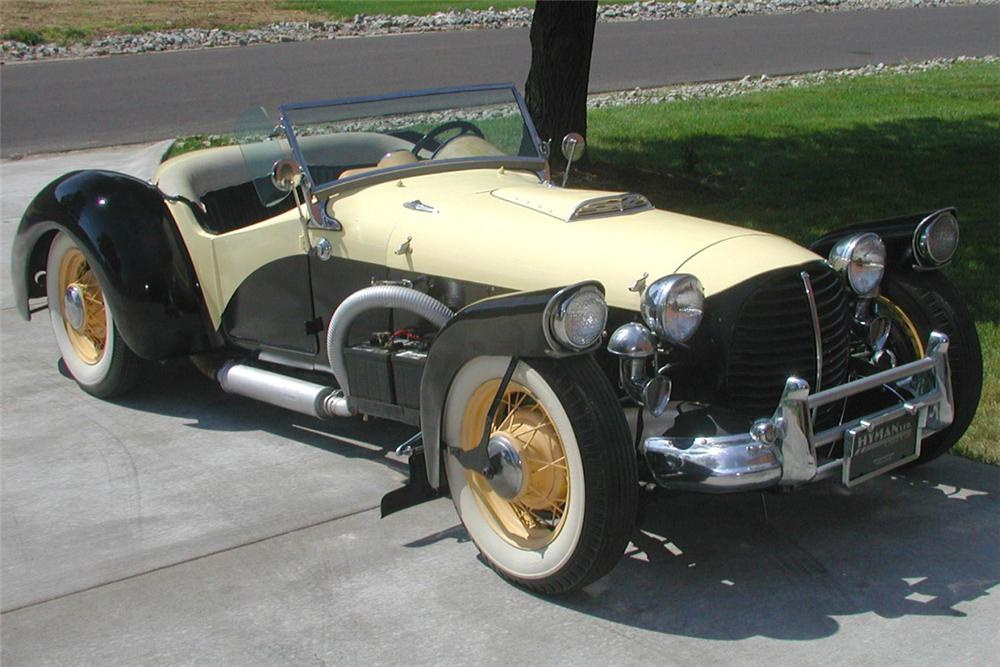 1938 LINCOLN SPECIAL CONVERTIBLE HOT ROD - Front 3/4 - 21370