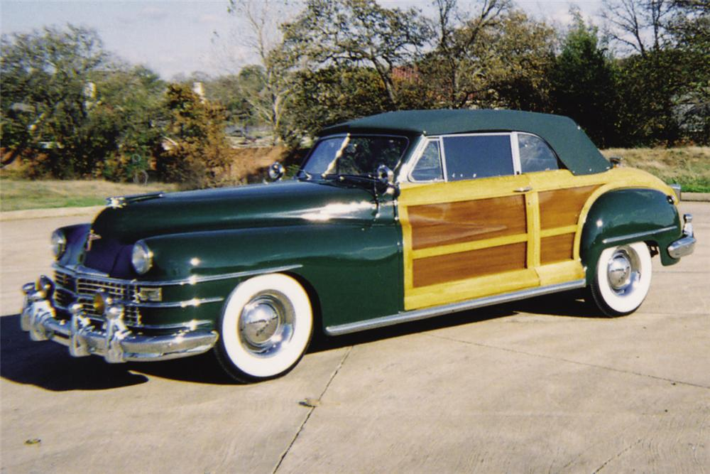 1948 CHRYSLER CONVERTIBLE - Front 3/4 - 21380