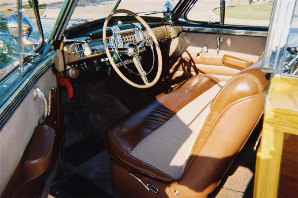 1948 CHRYSLER CONVERTIBLE - Interior - 21380
