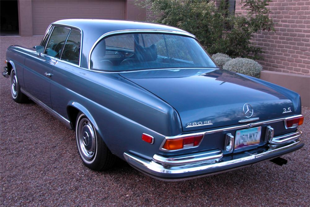 1971 mercedes benz 280se coupe 21381