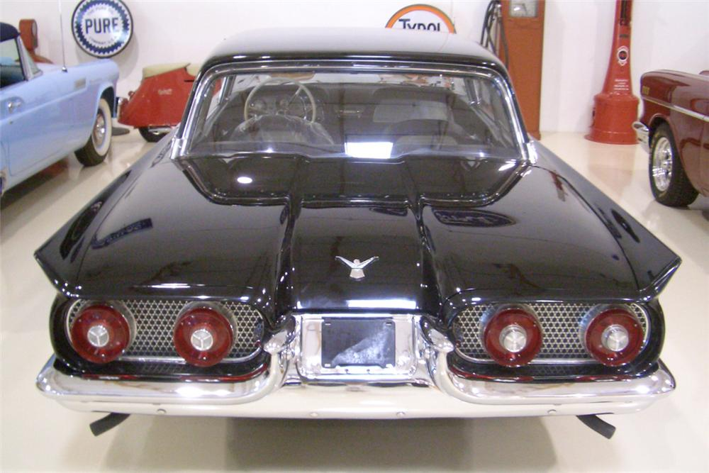 1958 FORD THUNDERBIRD COUPE - Rear 3/4 - 21388