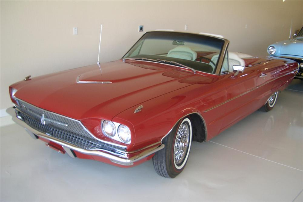 1966 FORD THUNDERBIRD CONVERTIBLE - Front 3/4 - 21389