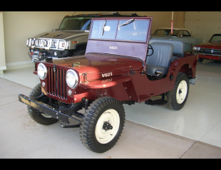 1947 JEEP WILLYS CONVERTIBLE -  - 21390