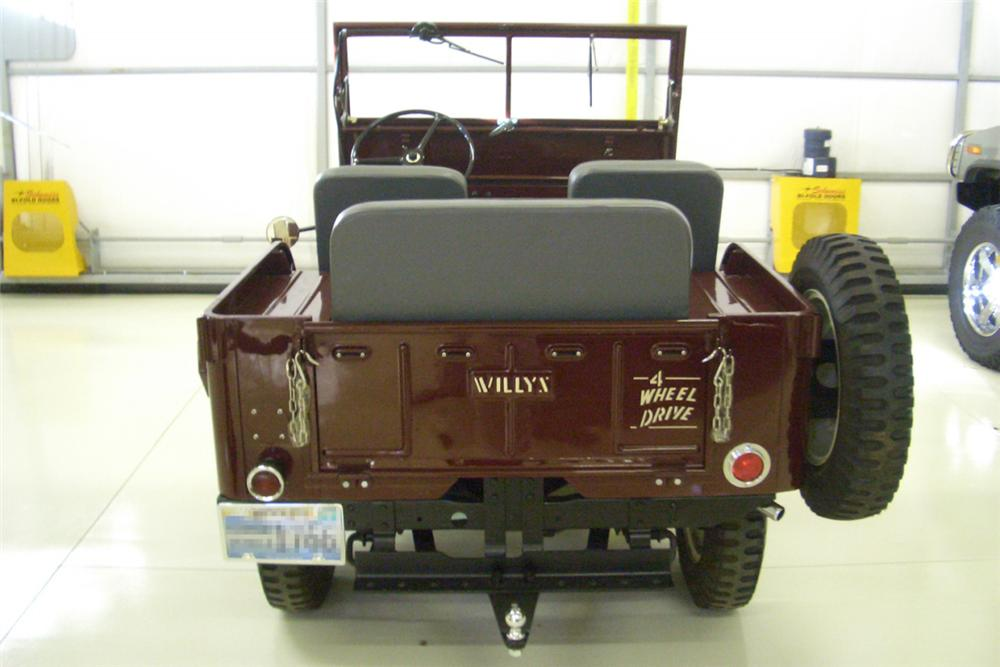 1947 JEEP WILLYS CONVERTIBLE - Rear 3/4 - 21390