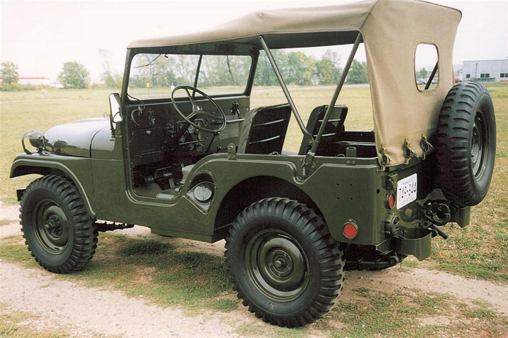 1952 WILLYS M-38A1 CONVERTIBLE - Side Profile - 21391