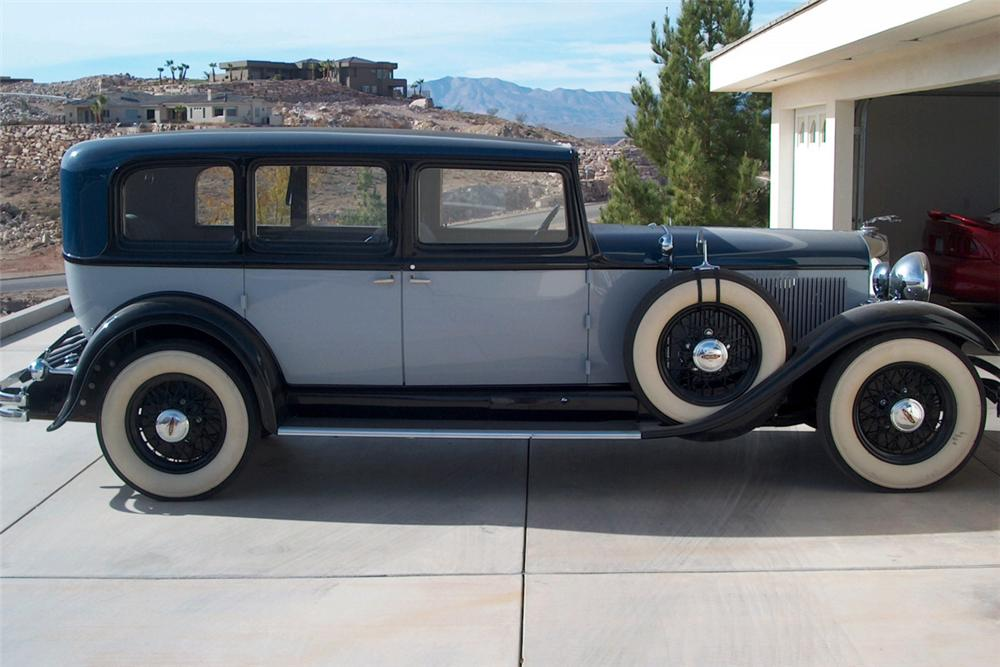 1931 LINCOLN 207A SEDAN - Side Profile - 21392