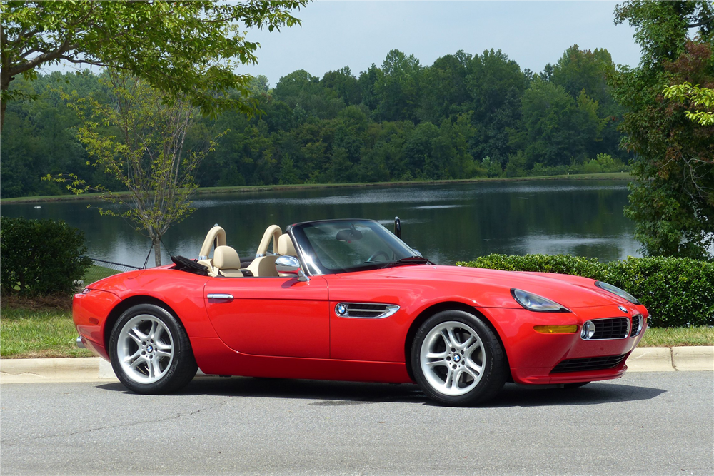2001 BMW Z8 CONVERTIBLE - Front 3/4 - 213944