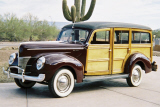 1940 FORD WOODY STATION WAGON -  - 21398