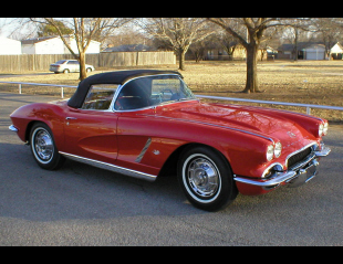 1962 CHEVROLET CORVETTE 327 CONVERTIBLE -  - 21409