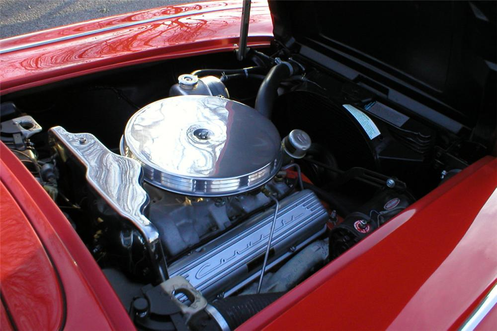 1962 CHEVROLET CORVETTE 327 CONVERTIBLE - Engine - 21409