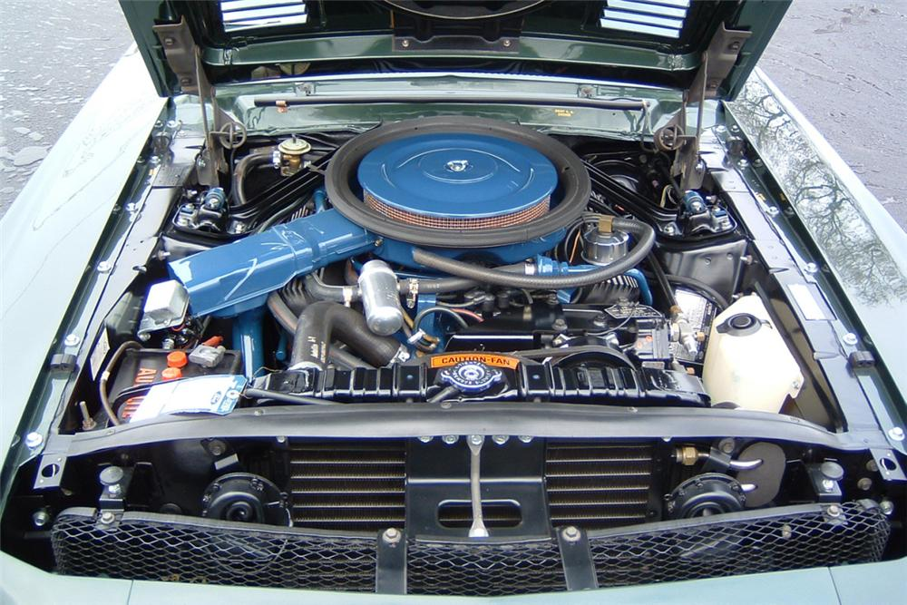 1968 SHELBY GT500 KR CONVERTIBLE - Engine - 21427