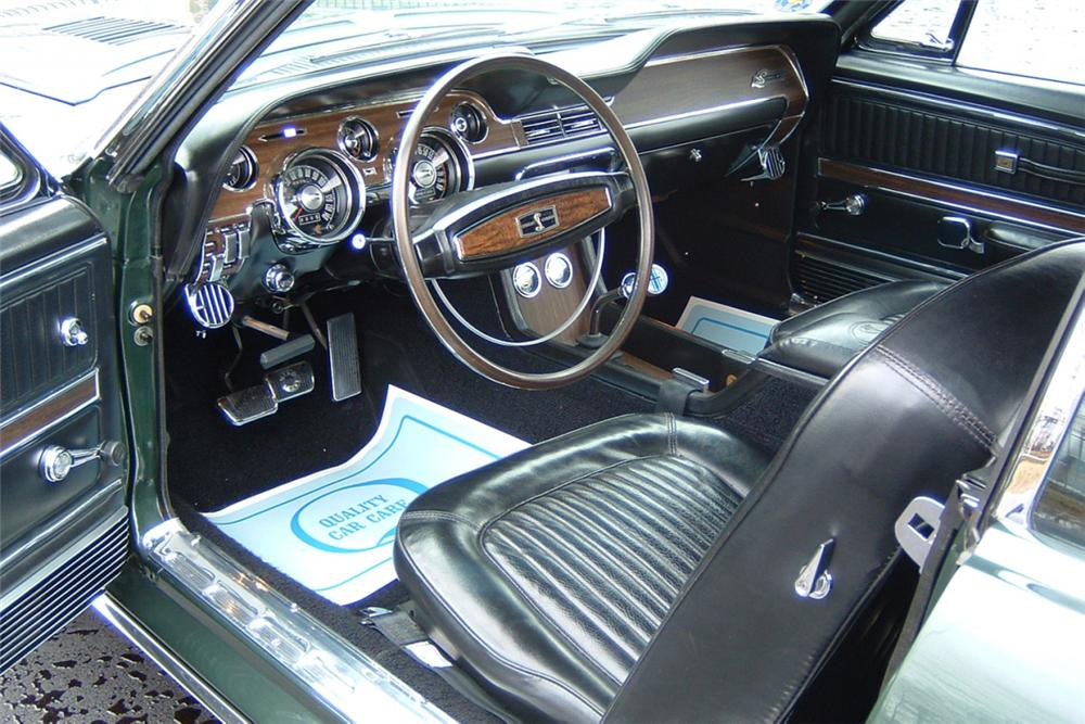 1968 SHELBY GT500 KR CONVERTIBLE - Interior - 21427