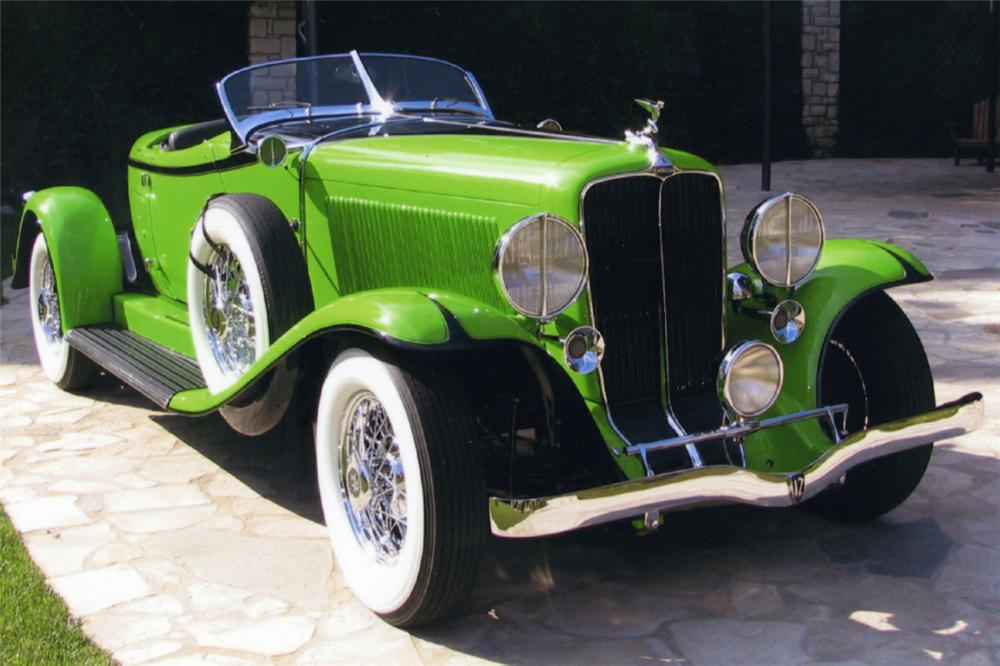 1932 AUBURN BOATTAIL SPEEDSTER 12160A2418E - Engine - 21438