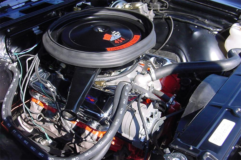 1970 CHEVROLET CHEVELLE LS6 CONVERTIBLE - Engine - 21439