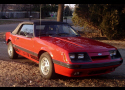 1985 FORD MUSTANG GT TWISTER II CONVERTIBLE -  - 21441