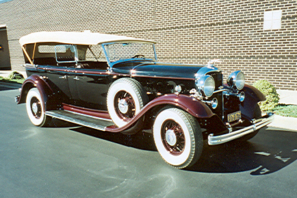 1932 LINCOLN KB 4 DOOR SPORT TOURING - Front 3/4 - 21442