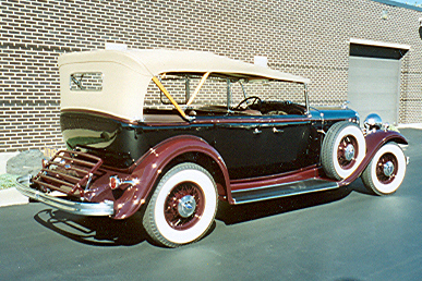 1932 LINCOLN KB 4 DOOR SPORT TOURING - Rear 3/4 - 21442