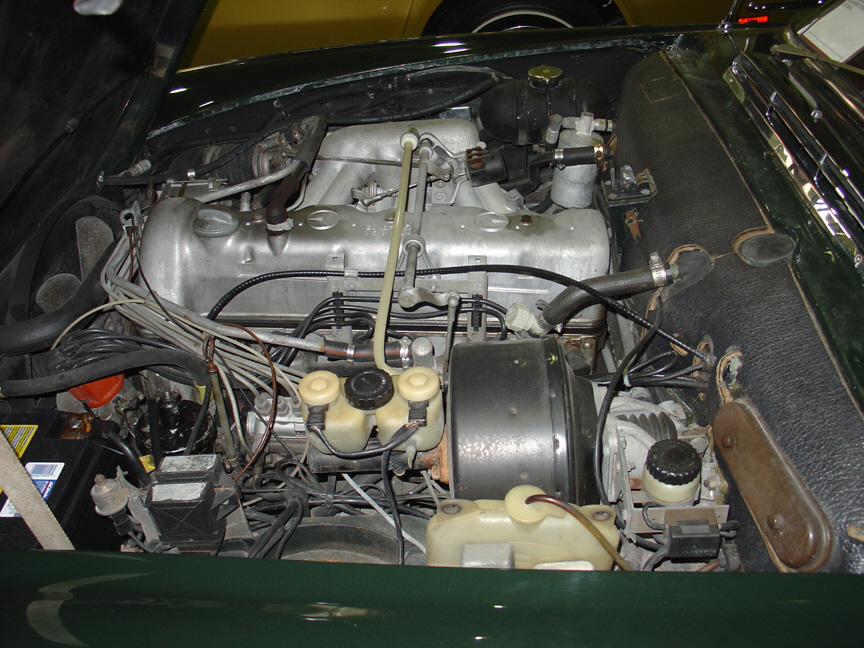 1970 MERCEDES-BENZ 280SL ROADSTER - Engine - 21451