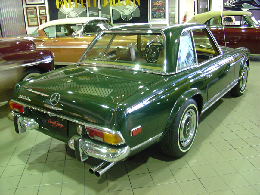 1970 MERCEDES-BENZ 280SL ROADSTER - Rear 3/4 - 21451