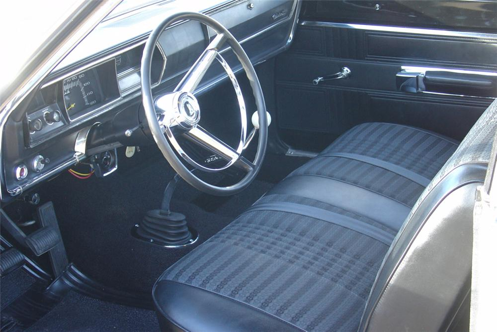 1967 PLYMOUTH BELVEDERE RP 23 FACTORY SUPER STOCK - Interior - 21452