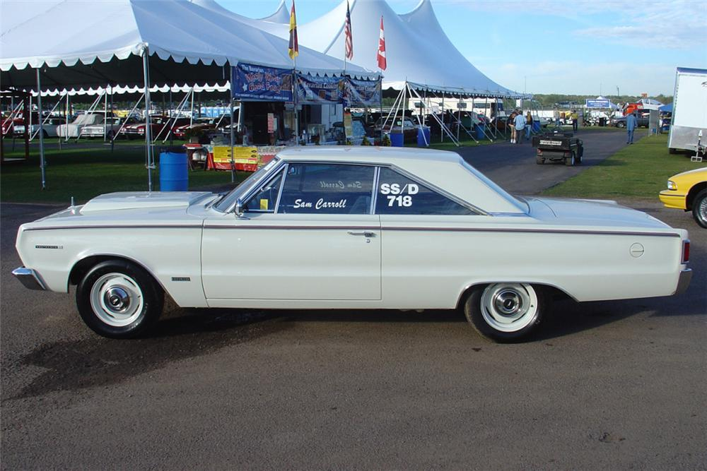 1967 PLYMOUTH BELVEDERE RP 23 FACTORY SUPER STOCK - Side Profile - 21452