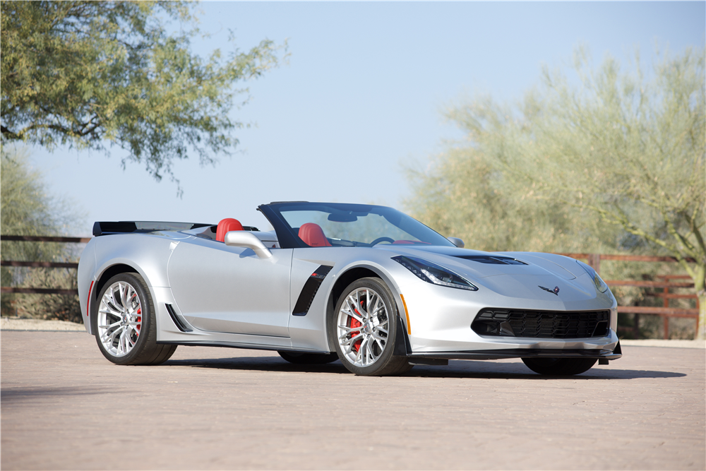 2015 CHEVROLET CORVETTE Z06 CONVERTIBLE - Front 3/4 - 214605
